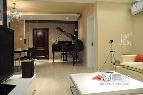 两室两厅一卫装修图 70平米上海家 家居频道 高清图片