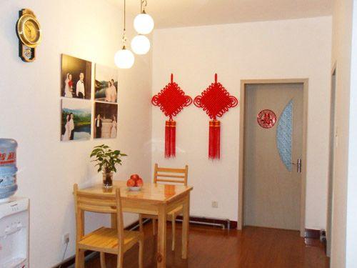 90平装修效果图 两室两厅现代风格高清图片