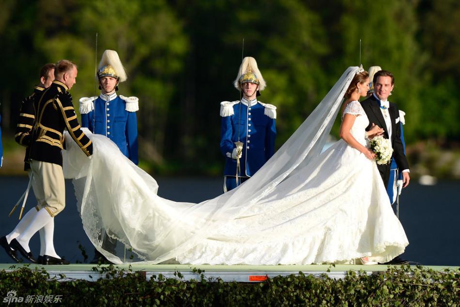 欧洲最美公主结婚 各国王室出席瑞典王子帅爆(图)