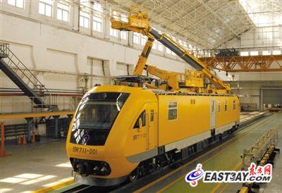 """世界最快""""高铁救护车""""装备中国铁路(图)"""