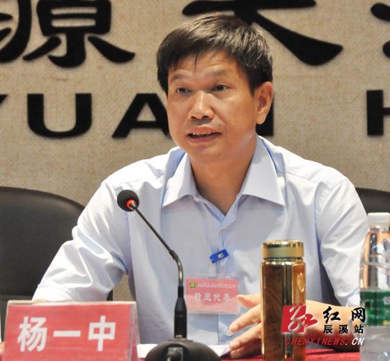 辰溪县残疾人联合会第三次代表大会开幕