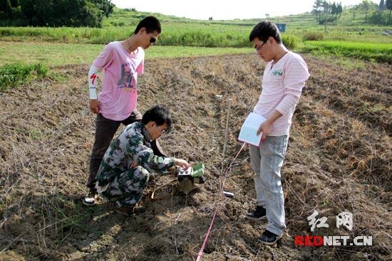 湖南科技大学土木工程学院赴永州开展水资源实地勘探