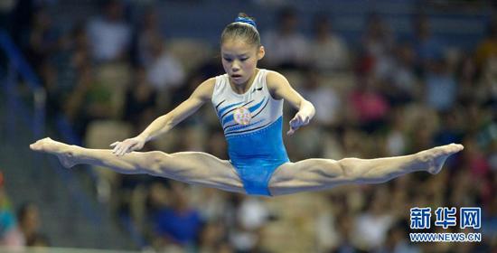 永定区籍女孩商春松获全运会体操女子个人全能冠军