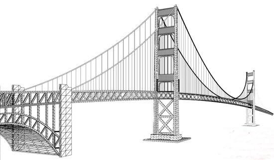 桥的简笔画-长沙15座桥11月 体检 天心阁桥需封闭几小时