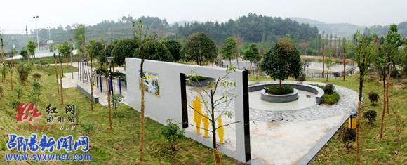 景观广场手绘线稿柳树