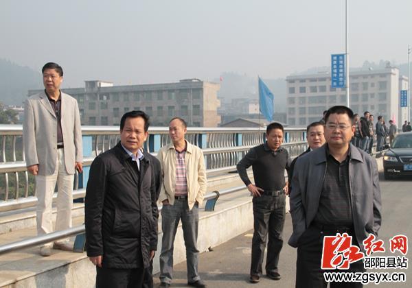 s317线邵阳县五峰铺至隆回县城公路邵阳县段交工仪式