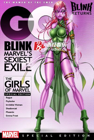 X战警 Blink漫画原型
