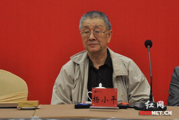 杨勇同志的儿子杨小平等亲属出席。