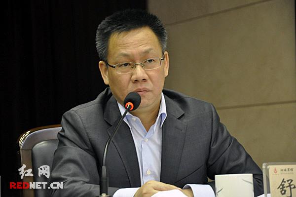 中南傳媒董事,紅網董事長、總經理舒斌宣讀了關于表彰紅網分站與手機報建設工作先進單位的決定。