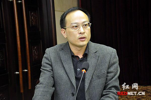 常德市委宣传部网宣办主任陈志强作了典型发言。