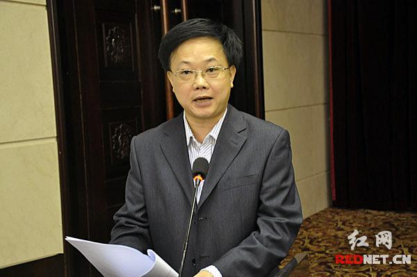 郴州市网管中心主任麻杰作典型发言。