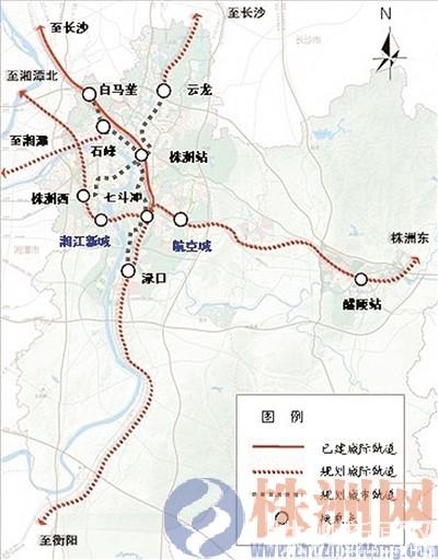 s330武广连接线规划图