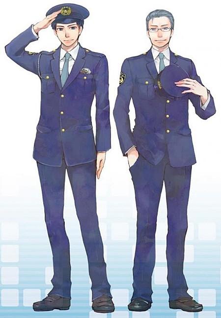 长野日本警察帅哥警署漫画漫画扼杀网络的蹿红形象图片