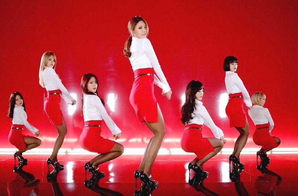 韩国女团走性感风 韩三大电视台禁播大胆舞蹈