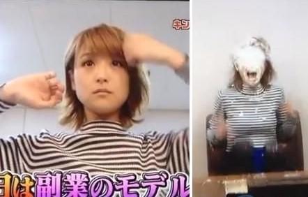 [网友]日本嫩模遭恶整女生奶油喷脸子宫同情割白色视频图片