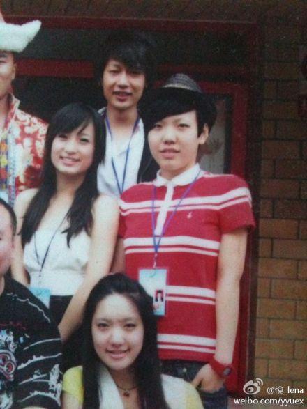 吴莫愁中学时代短发造型曝光 是学霸也是街舞冠军