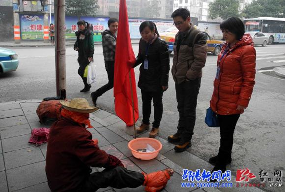 邵阳市民政局学雷锋活动有声有色