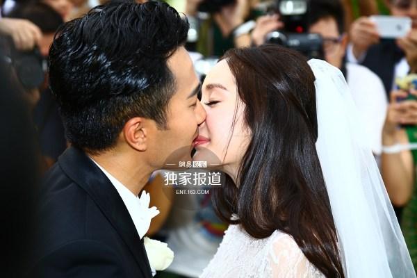 杨幂刘恺威婚礼大头照曝光 粉丝大喊幸福图片