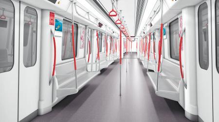 地铁1号线6套内饰设计5套外观设计今起征求意见