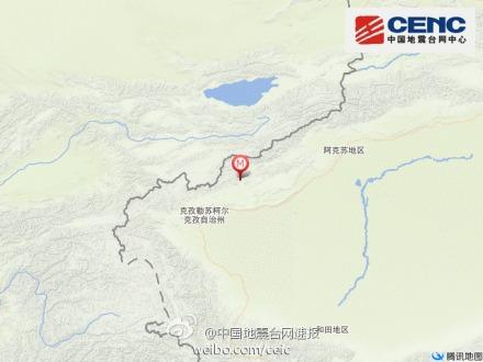 中新网5月1日电 中国地震台网正式测定:05月01日15时28分在新疆维吾尔自治区克孜勒苏柯尔克孜自治州阿图什市(北纬40.5度,东经77.3度)发生3.4级地震,震源深度8千米。