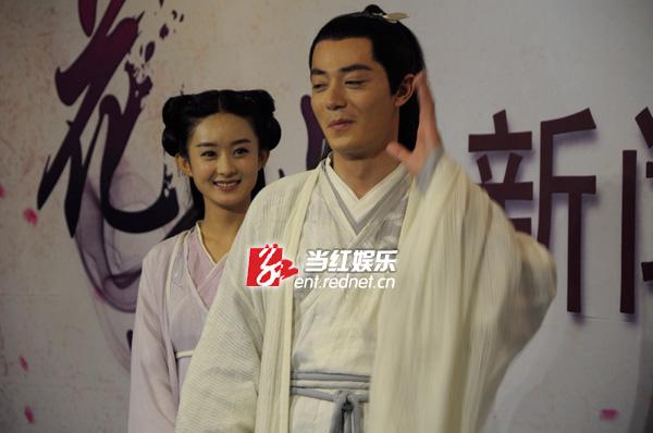花千骨媒体�yn�/&_红网 娱乐频道 > 正文     5月22日,电视剧《花千骨》在广西开放媒体