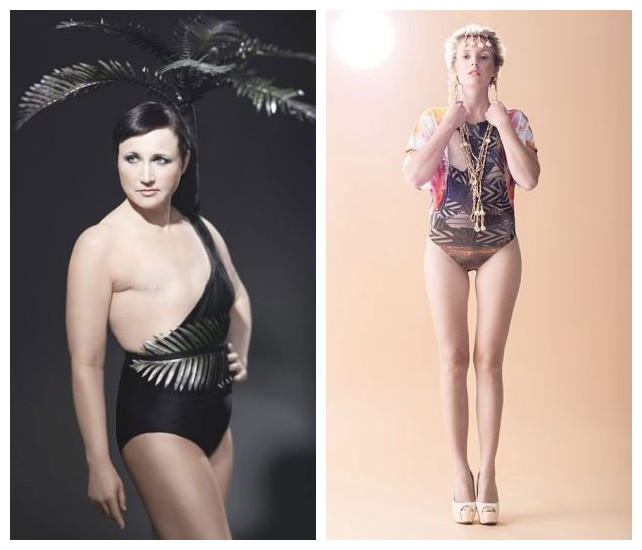 芬兰设计师为失乳女性打造特殊泳衣 环球频道