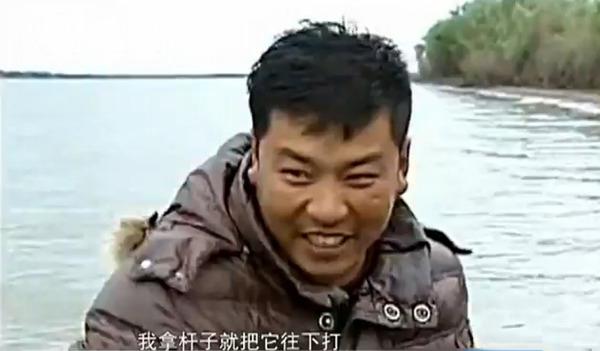黑龙江/野生东北虎渡江欲爬上渔船被打退(图片来源网络)