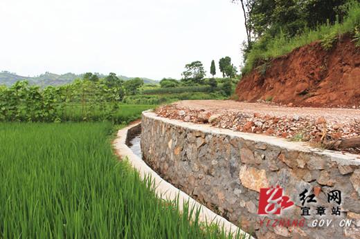 宜章县国土资源局土地整治项目建设造福罗家灌村