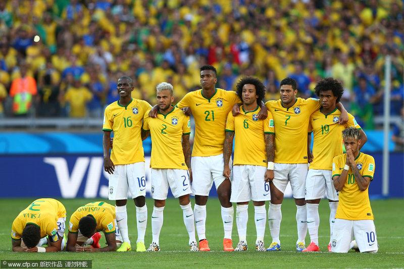 世界杯:门神2扑点球横梁救主 巴西4-3智利进8