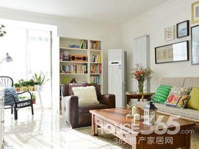 20平米单身公寓装修 小空间大容量高清图片