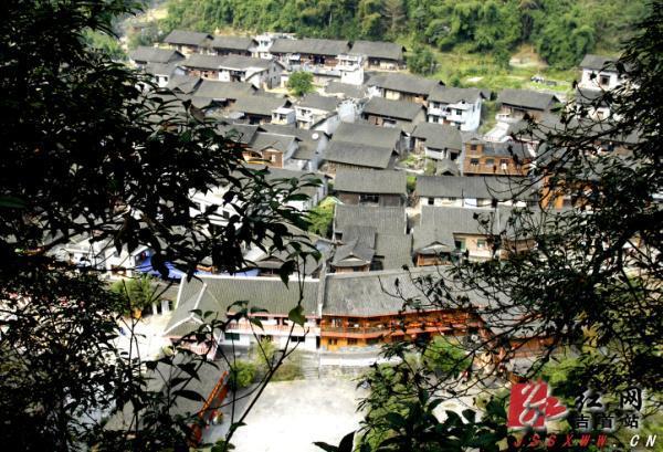 吉首市矮寨镇中黄村入围国保省保集中成片传统村落图片