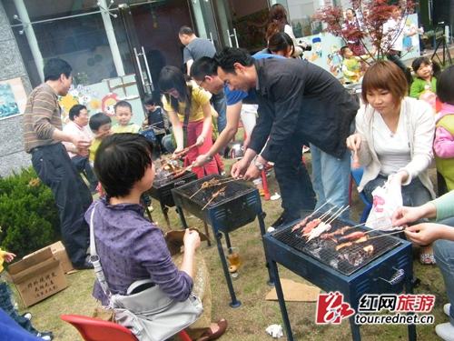 幼儿园手工制作烧烤