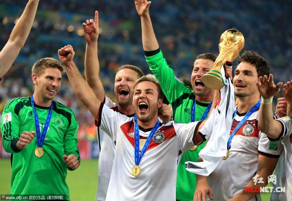 德国绝杀夺冠世界杯 格策:美梦终于成真