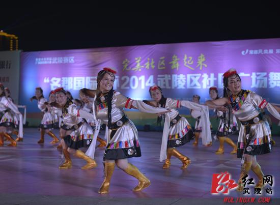 武陵广场舞风景独好——聚焦武陵区社区广场舞