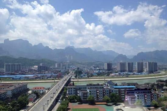 Zhangjiajie Included in the List of 2014 Cleanest Cities in China