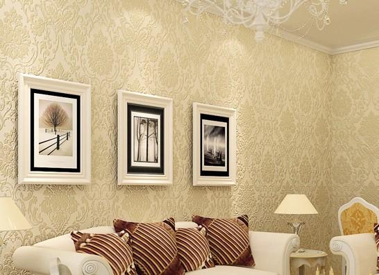 12款欧式风格壁纸 墙壁装饰也要高大上