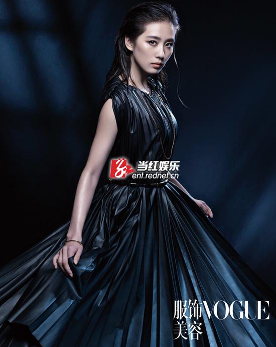 刘诗诗登杂志封面 时尚优雅演绎摩登风韵(图)