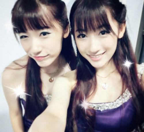 复旦双胞胎姐妹花走红
