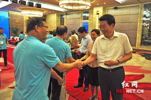 Xu Shousheng Meets Delegation of Hong Kong Island Federation for Cooperation