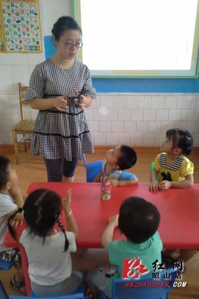 湘潭昭山区:幼儿园开学第一课是安全教育(图)