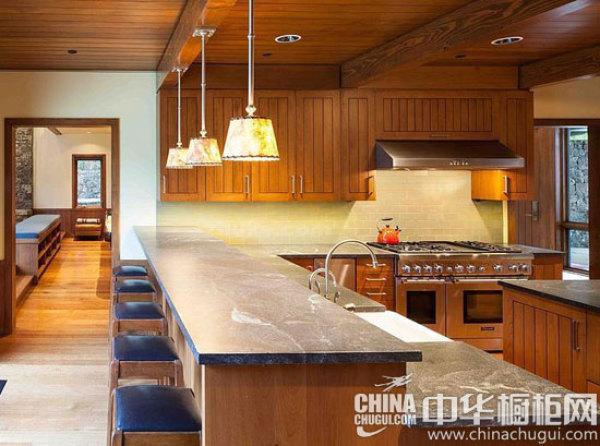 六款中式实木橱柜 领略中国传统之美
