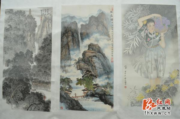 """凤凰举办庆国庆节,重阳节""""中国梦我的梦""""书画展"""