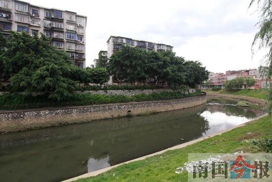 柳州市调整两片区规划 竹鹅溪将建成滨水风光走廊