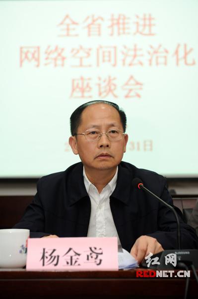 湖南省委宣传部副部长杨金鸢出席并讲话。