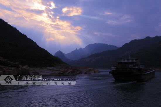 贵港:抢抓历史机遇 打造西江黄金水道领航者(图)