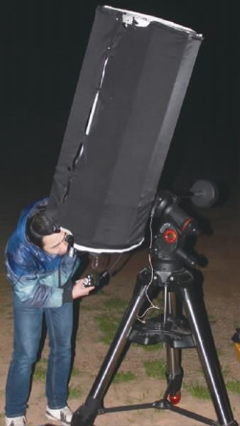 13岁开始拥有第一台天文望远镜 湘伢子酷爱星