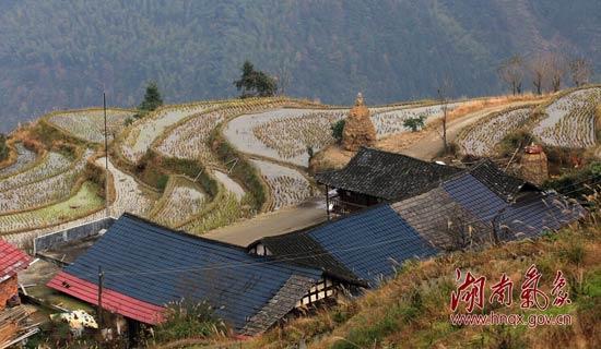 风景如画的山背村.摄影:刘瑞琪