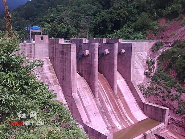 湖南省建筑工程集团总公司水利水电工程公司代表工程:云南老石寨水图片