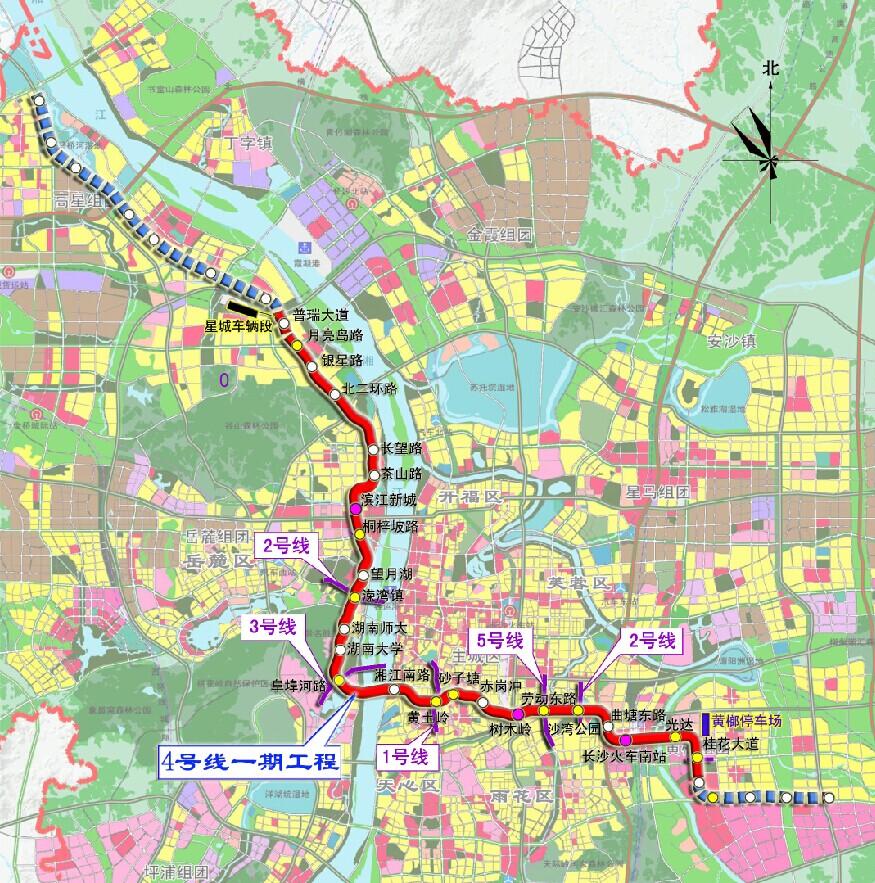 长沙市轨道图片
