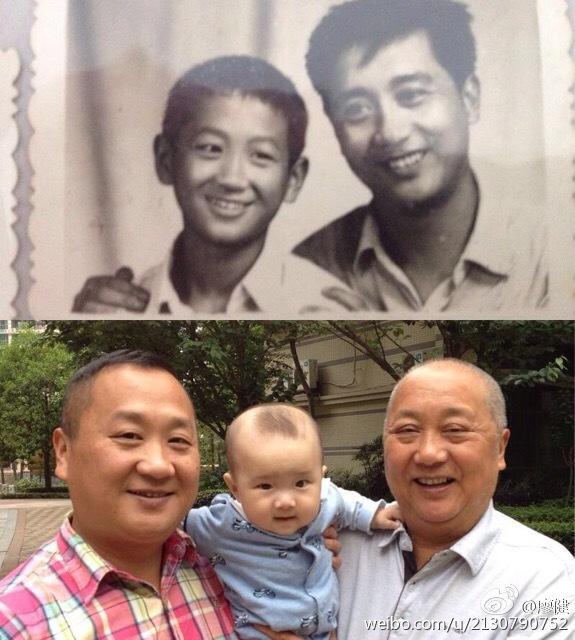 巴蜀笑星廖健和父亲